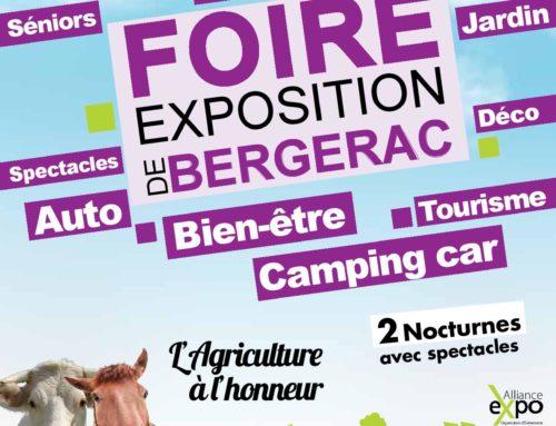 Présence Verte Guïenne à la foire expo de Bergerac.